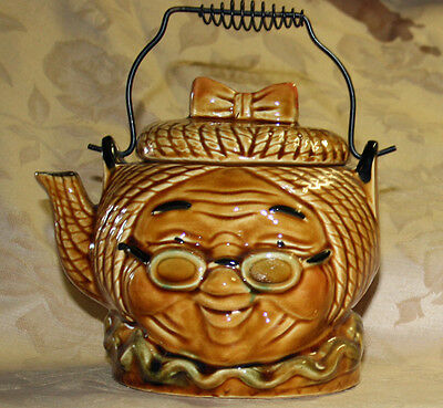 Teapot Granny Made in Japan No cracks, chips, or crazing