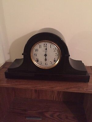 Fine Working Antique Seth Thomas Adamantine Mantle Clock Lot A-30