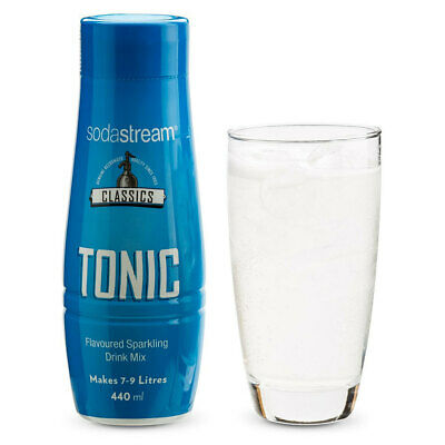 SodaStream Classics Tonic 440ml/Sparkling Soda Water Syrup Drink Mix/Makes 9L