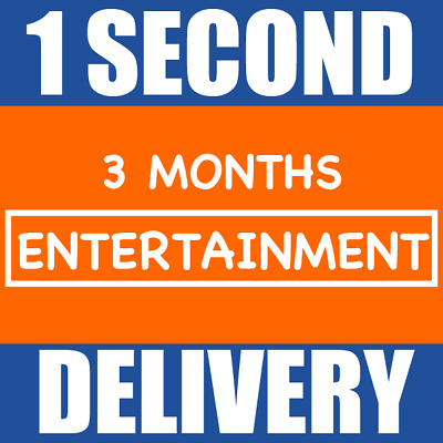 SKY ENTERTAINMENT PASS - 3 Months [NOW TV] - INSTANT