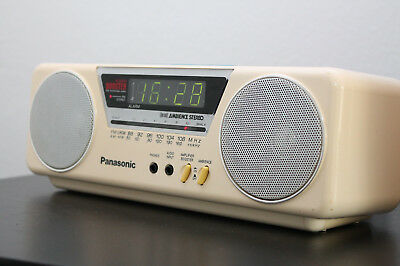 panasonic rc x210 radio wecker ra ambience stereo alarm picclick de. Black Bedroom Furniture Sets. Home Design Ideas