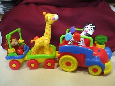 Fisher Price Amazing Animals Musical Sing and Go Choo Choo Train with Animals
