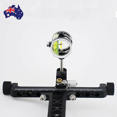 Compound Bow Sight Micro Adjust long pole for hunting and archery