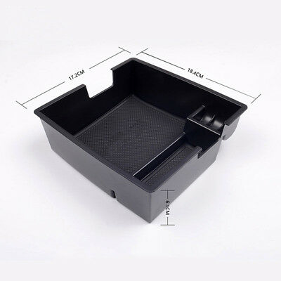 BU_ Car Center Console Bin Glove Tray Armrest Storage Box for Ford Everest Eager