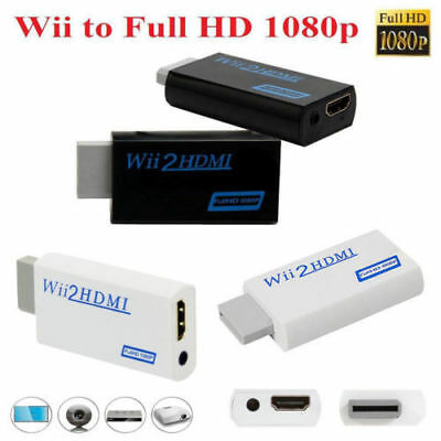 Wii to HDMI 1080P Upscaling Full HD Converter Adapter with 3.5mm Video Output KY