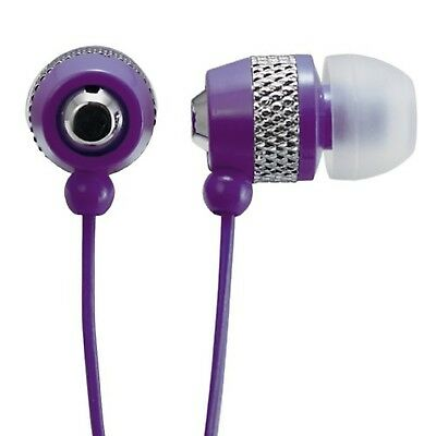 AUDIOLOGY AU-148-PL In-Ear Stereo Earphones for MP3 Players, iPods and iPhone...