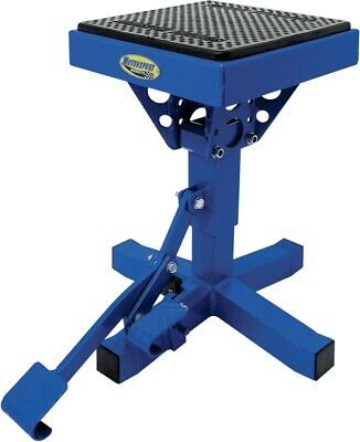 Motorsport Products P-12 Adjustable Lift Stand Blue 92-4014 4110-0017