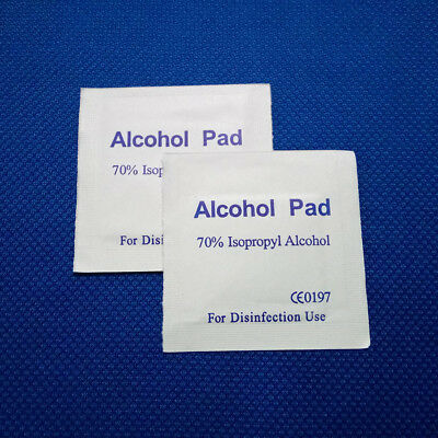 Alcohol Pad Antiseptic Skin Swab Wipes Isopropyl IPA Nail Cleansing Skin Prep