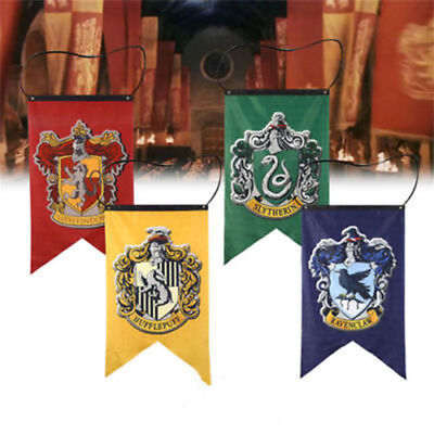 75x125cm Hufflepuff Slytherin Ravenclaw Harry Potter House Banners Flagge 9Color