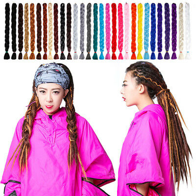 "41""Ombre Kanekalon Jumbo Braiding Synthetic Hair Extension Twist Braids 100g NUR"