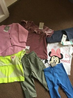Next, F&F Baby Girl Clothes Bundle Bnwt 3-6 Months