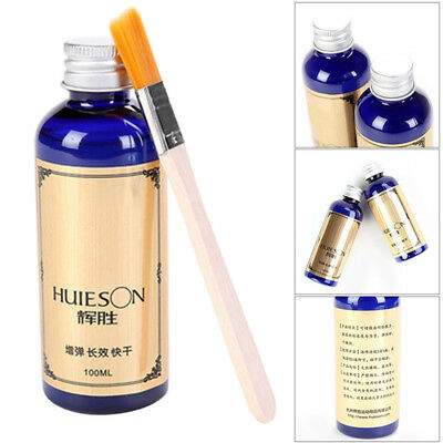 HUISON 100ML Table Tennis Ping Pong Rubber Speed Adhesive Waterbase Glue + Brush