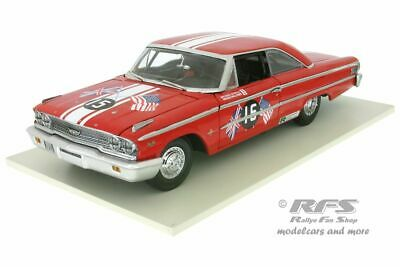 Ford Galaxie 500 XL - Goodwood Revival 1963 - 2011 - Steele - 1:18 Sun Star 1472