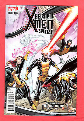 All New X-Men Special #1 1:50 Connecting Campbell Variant Arms Of Octopus