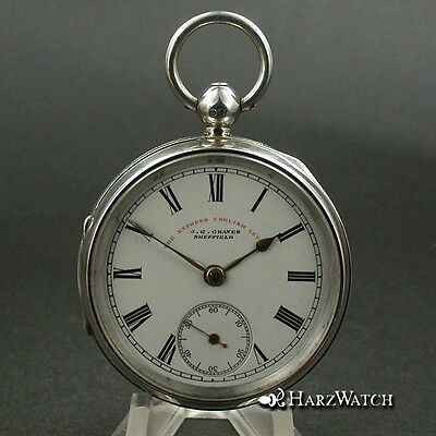 J.G. Graves Sheffield - The Express English Lever - Pocket Watch - 1898