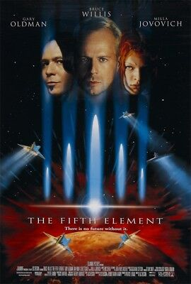 24x36 14x21 Poster Luc Besson Bruce Willis The Fifth Element Movie Art Hot P-281