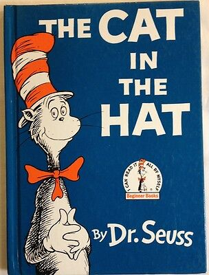 The Cat In The Hat by Dr. Seuss (Theodor Seuss Geisel) 1985 - Hardcover