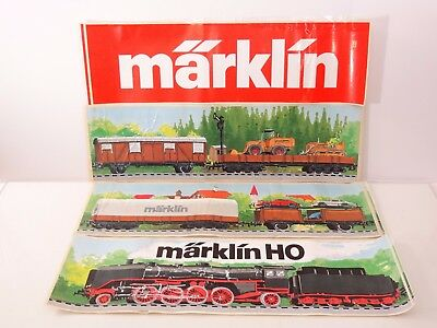 Marklin Trains Unused Store Display Stickers Decals Lot of 4 - Nice