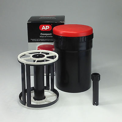 "AP Compact Developing Tank 4X5 reel develope 2 sheets 4X5"" film"