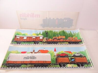 Marklin Trains Unused Store Display Stickers Decals Lot of 4 - Nice E3