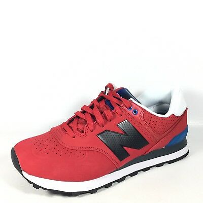 Details about New Balance ML 574 RedBlackBlue White Men's US 8 Sneakers Buts ML574ACC