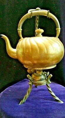 Antique Estate Rare Historic Teapot Dated Signed 30-10-12 Old English L Marked