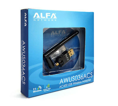 ALFA AWUS036ACS 802 11AC high speed dual band Wi-Fi USB