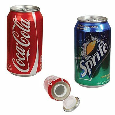 NEW Coke Can Sprite Can Fake Diversion Safe *2 Total FREE SHIPPING