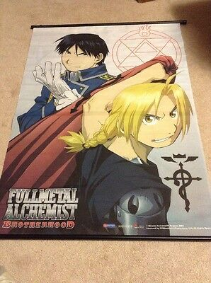 Full Metal Alchemist Brotherhood Banner RARE collectable poster anime Manga
