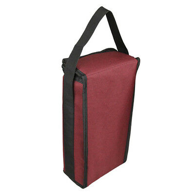 Red Wine Bag Portable Insulated Bottle Bag Two Bottles Cover Gift Tote Universal