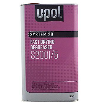 U-pol System  20 Fast Panel Wipe & Degreaser 5L UPOL Panelwipe 5 Litre