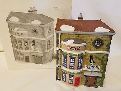 Department Dept 56 Dickens Village King's Road Post Office Heritage #5801-7 Box