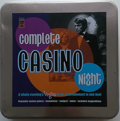 Complete Casino Night - Lagoon Games - games, recipes, invitations - NEW