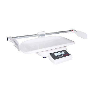 Baby Weigh Scale T-Scale M101 Pediatric Infant 44lb x 0.002lb White Height Ruler