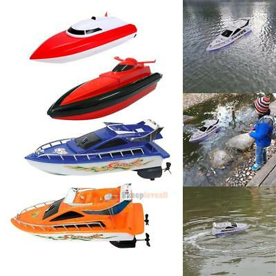 Kids Boys Remote Control RC Super Mini  Speed Boat High Performance Boat Toy