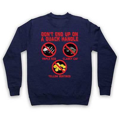Brass Eye Don't End Up On A Quack Handle Clarky Cat Adults & Kids Sweatshirt
