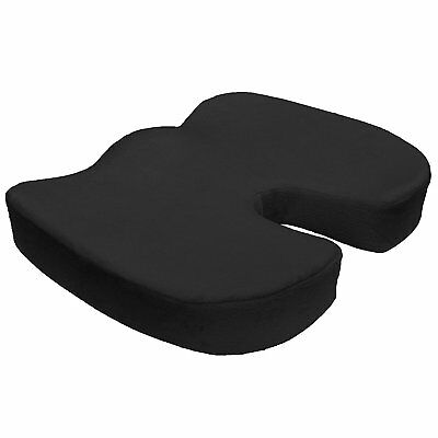 Memory Foam Coccyx Orthopedic Large Seat Office Chair Cushion Pain Relief Pillow