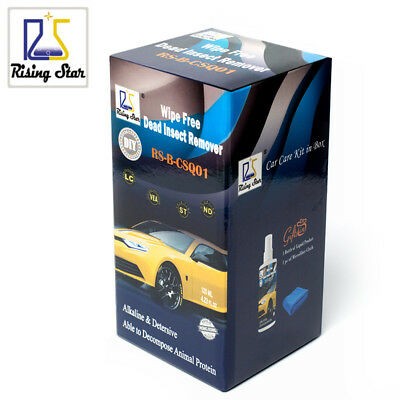 Rising Star RS-B-CSQ01 Car Paint Fly amp Bug Removal Bug Splats Cleaner Wipe F