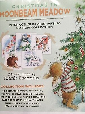 "Crafters Companion ""Christmas in Moonbeam Meadow"" CD-Rom NEU/OVP"