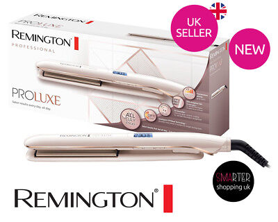 Remington S9100 Proluxe Hair Ceramic Straighteners OPTIHeat - Rose Gold