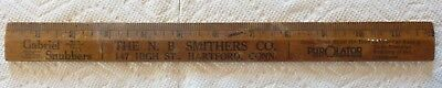 The N.b. Smithers Co., Advertising Ruler, Gabriel Snubbers; Purolator, Etc....
