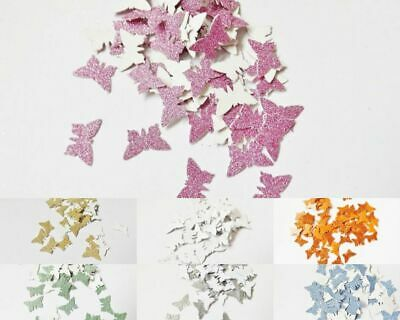 Butterfly Glitter Embellishment Card Making Party Decor Paper Craft Supplies