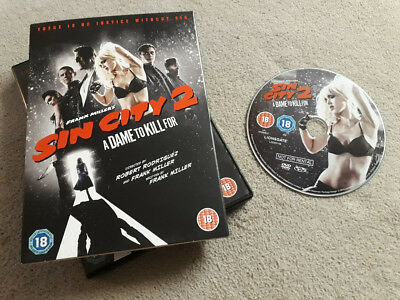 Sin City 2: A Dame to Kill For (DVD, 2014) Mickey Rourke, Jessica Alba