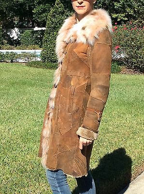 0215757fd Make an offer - Must Sell - Gorgeous Blue Duck Genuine Shearling Fur Trim  Coat