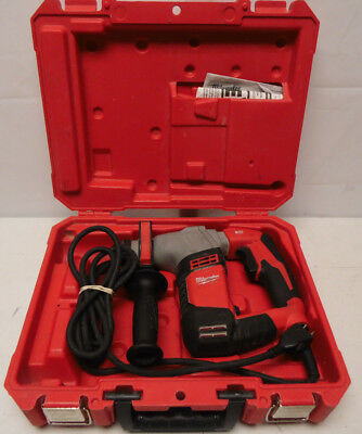 "Milwaukee 5263-20 5/8"" SDS ROTARY HAMMER DRILL 120v With Case, Nice Item"