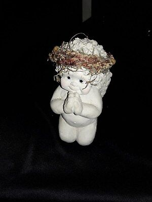 "Cast Art Industries: DREAMSICLES CHERUB PRAYING. 1991  Approx. 4 1/2 "" Heavy"