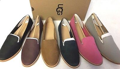 Ugg Australia Vista Driving Moccasin Smoking Flat 1018363 Shoes multiple colors
