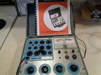 B&K Dyna -Jet Tube Tester Checker MODEL 606 With Manual  Works