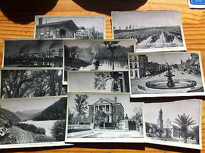 Complete Set of 10 Singer Sewing Machine Victorian Trade Cards