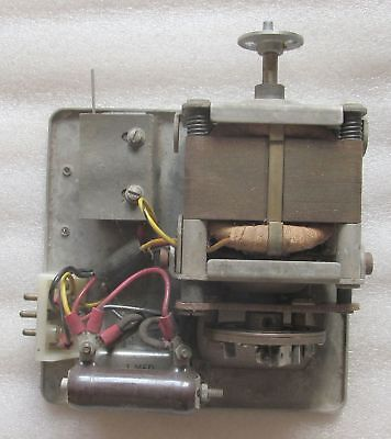 Friden Calculator Motor Unit - 115 VAC Governor Speed Control - Brushed Motor